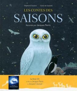 les contes des saisons Livre CD